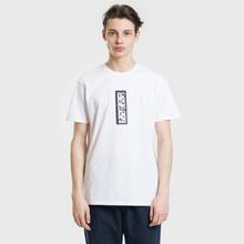 Мужская футболка Edwin Signboard White Garment Washed фото- 1