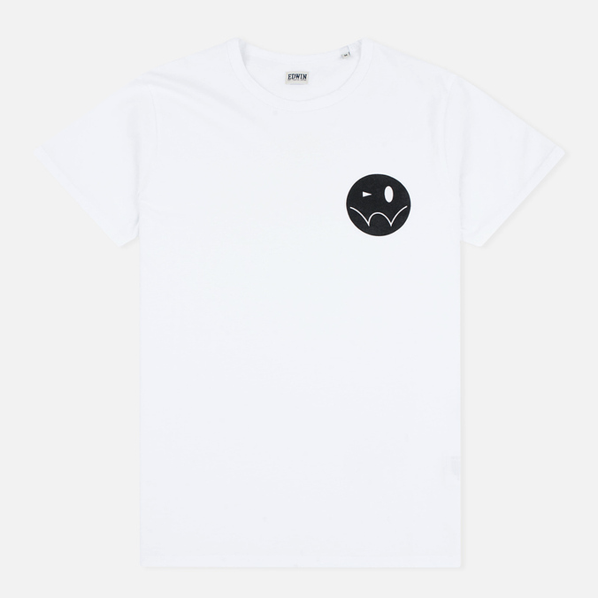 Edwin Smiley Men's T-shirt White