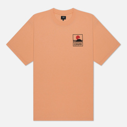 Мужская футболка Edwin Sunset On Mount Fuji Cantaloupe Garment Wash