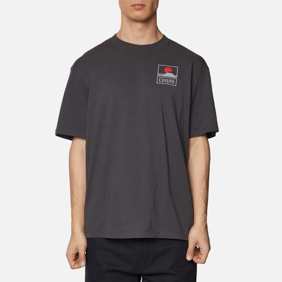 Мужская футболка Edwin Sunset On Mount Fuji Ebony Garment Wash