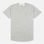 Edwin Terry Cotton Men's T-shirt Grey Marl photo- 0