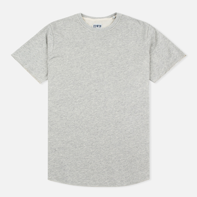Edwin Terry Cotton Men's T-shirt Grey Marl