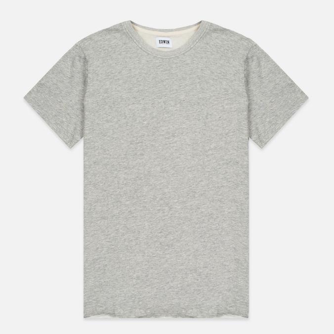 Мужская футболка Edwin Terry Cotton Grey Marl