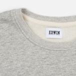 Мужская футболка Edwin Terry Cotton Grey Marl фото- 1