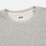 Мужская футболка Edwin Terry Cotton Grey Marl фото- 2