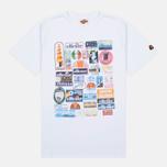 Мужская футболка Ellesse Badge Optic White фото- 0