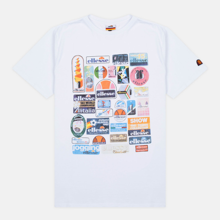 Ellesse Badge Men's T-shirt Optic White