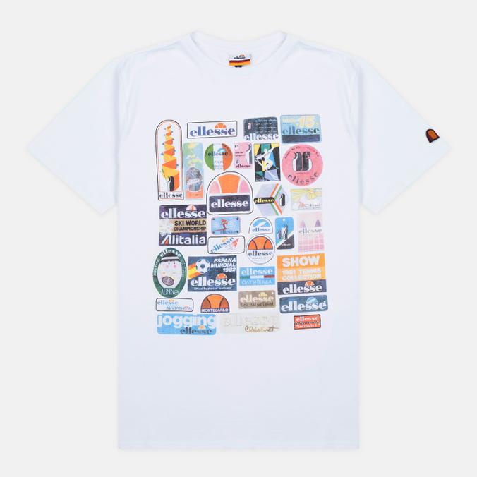 Мужская футболка Ellesse Badge Optic White