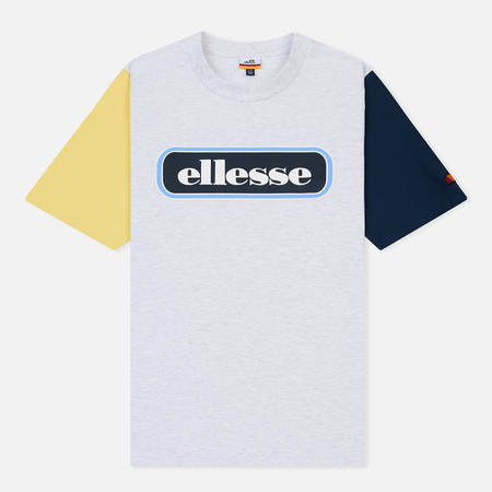 Мужская футболка Ellesse Mirro Oversized White Marl