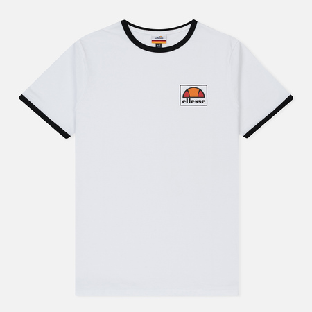 Мужская футболка Ellesse Montefello Optic White/Black