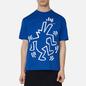 Мужская футболка Etudes х Keith Haring Wonder Blue фото - 2