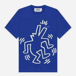 Мужская футболка Etudes х Keith Haring Wonder Blue