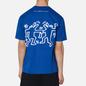 Мужская футболка Etudes х Keith Haring Wonder Patch Blue фото - 3