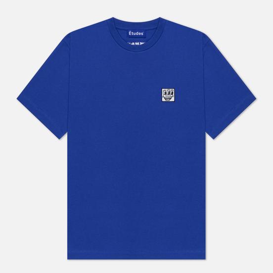 Мужская футболка Etudes х Keith Haring Wonder Patch Blue