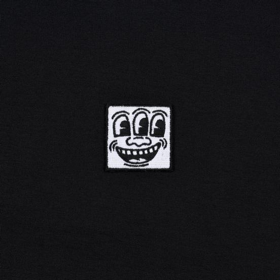 Мужская футболка Etudes x Keith Haring Unity Patch Black