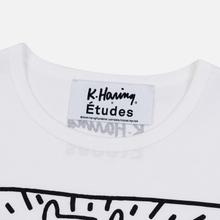 Мужская футболка Etudes x Keith Haring Unity White фото- 3