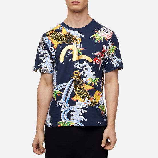Мужская футболка Evisu All Over Digital Printed Multicolor