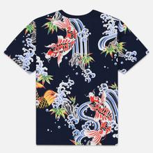 Мужская футболка Evisu All Over Digital Printed Multicolor фото- 4