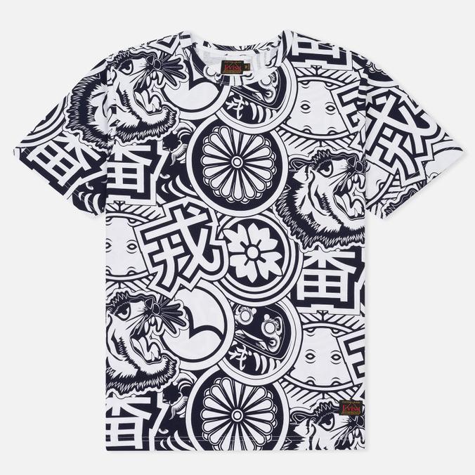 Мужская футболка Evisu All Sublimation Allover Navy
