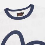 Мужская футболка Evisu Blue Seagull Slogan White фото- 2