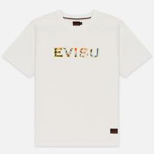 Мужская футболка Evisu Carp Pattern All Over Printed Daicock Off White фото- 0