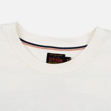 Мужская футболка Evisu Daruma Poster Printed Off White фото- 1