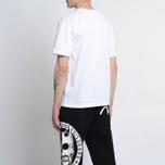Мужская футболка Evisu Devil Reflective Print White фото- 5