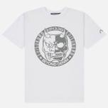 Мужская футболка Evisu Devil Reflective Print White фото- 0