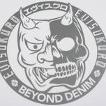 Мужская футболка Evisu Devil Reflective Print White фото- 2