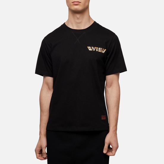 Мужская футболка Evisu Digital Printed Carp Pattern Black