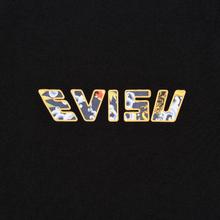 Мужская футболка Evisu Digital Printed Carp Pattern Black фото- 2