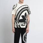 Мужская футболка Evisu Enlarge Kamon Ecru фото- 4