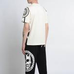 Мужская футболка Evisu Enlarge Kamon Ecru фото- 5