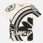 Мужская футболка Evisu Enlarge Kamon Ecru фото- 0