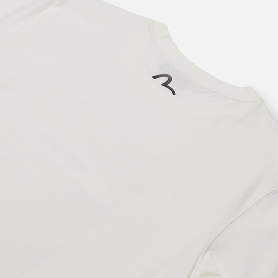 Мужская футболка Evisu Evergreen Godhead Tiger Graphic Printed Off White