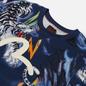 Мужская футболка Evisu Evergreen Tiger Landscape All Over Printed Dark Navy фото - 1