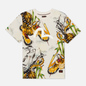 Мужская футболка Evisu Evergreen Tiger Landscape All Over Printed Ecru фото - 0