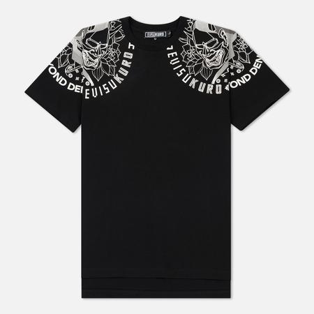 Мужская футболка Evisu Evisukuro Devil Print Black
