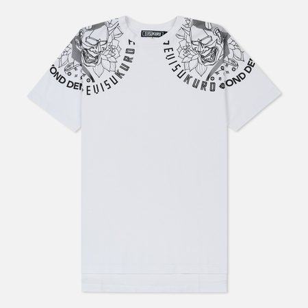 Мужская футболка Evisu Evisukuro Devil Print White