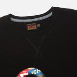 Evisu Fancy Applique Seagull Men's T-Shirt Black photo- 1