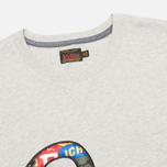 Evisu Fancy Applique Seagull Men's T-Shirt Grey photo- 1