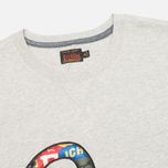 Мужская футболка Evisu Fancy Applique Seagull Grey фото- 1
