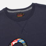 Мужская футболка Evisu Fancy Applique Seagull Navy фото- 1