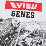 Мужская футболка Evisu Genes Print White фото- 4
