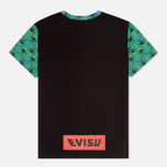 Мужская футболка Evisu Godhead Allover Print Green фото- 1