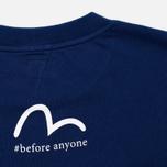 Мужская футболка Evisu Godhead Dark Blue фото- 3