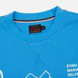 Мужская футболка Evisu Godhead Light Blue фото- 1