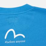 Мужская футболка Evisu Godhead Light Blue фото- 3