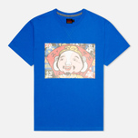 Мужская футболка Evisu Godhead Print Blue фото- 0