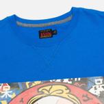 Мужская футболка Evisu Godhead Print Blue фото- 1